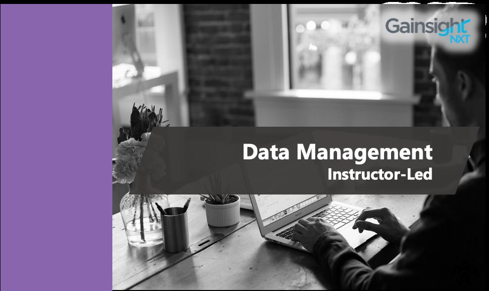 Admin - Data Management - Oct 2020