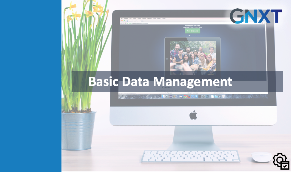 Admin - Basic Data Management - NXT
