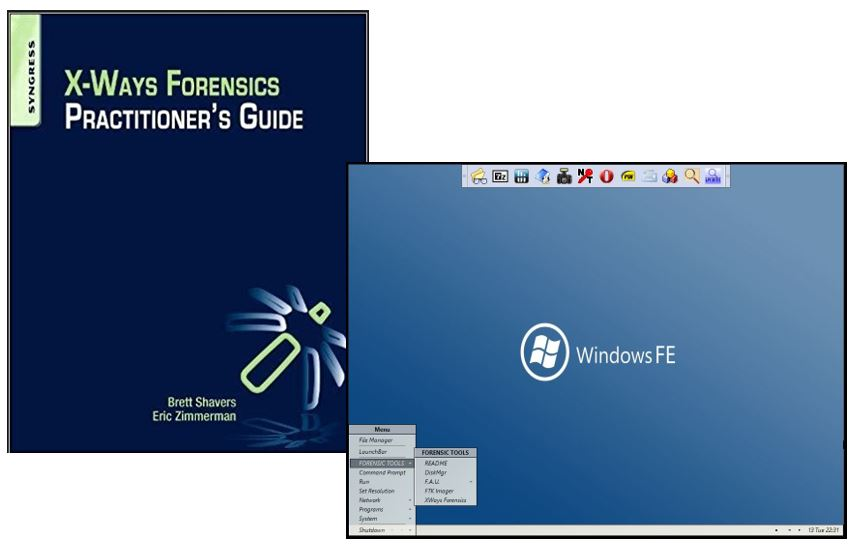 X-Ways Forensics Practitioner's Guide Course and Forensic Operating Systems Course Bundle