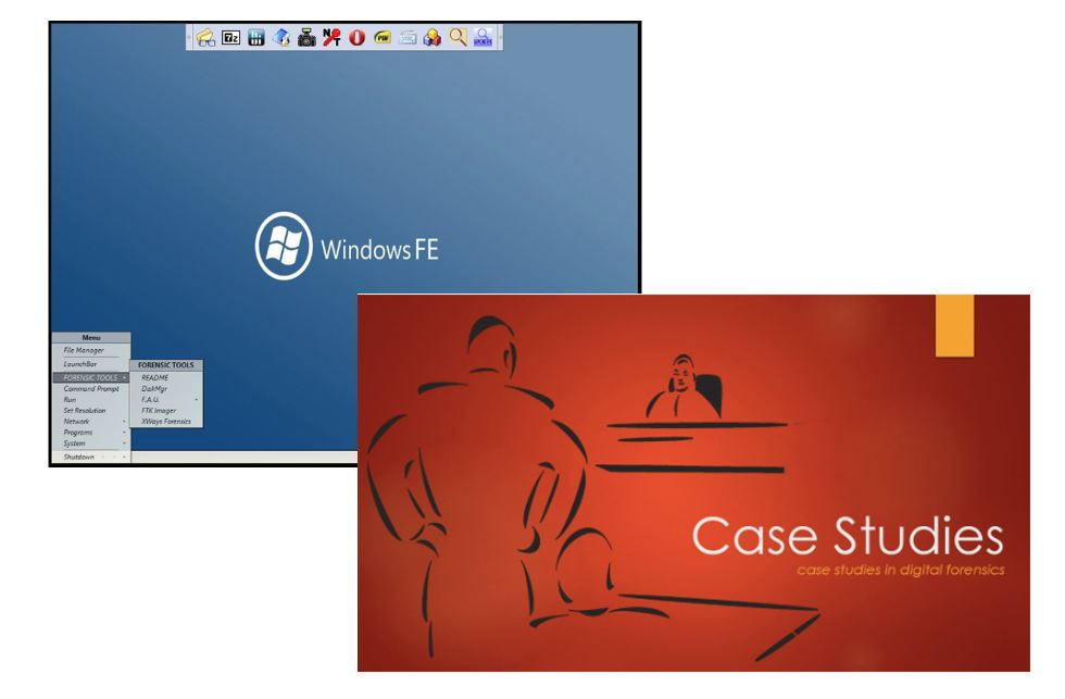 Case Studies Series and Windows Forensic Environment (WinFE) Bundle