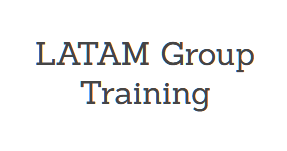 Latin-American (LATAM) Group Training (Spanish), Mayo 12-14