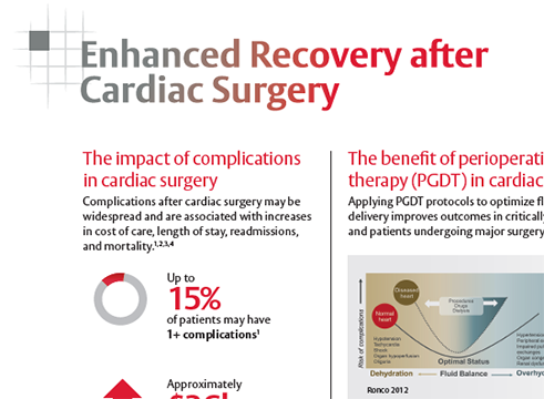 Cardiac Enhanced Surgical Recovery Summary Brochure