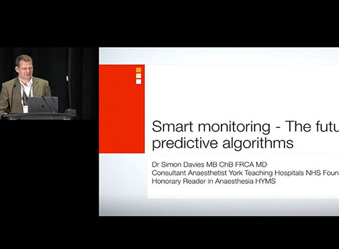 Smart Monitoring (Part 2 of 2) -The Future of Predictive Algorithms (Dr. Simon Davies)