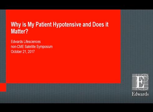 为什么我的患者会发生低血压,这是否值得关注
