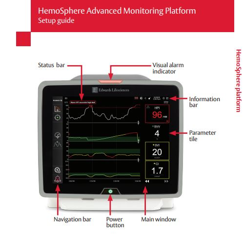 HemoSphere monitor setup guide v.2_2020