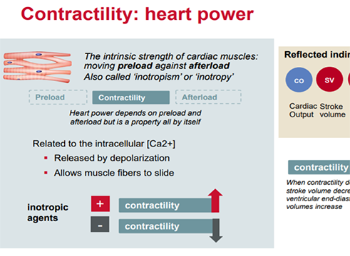 The Clinical Role of Contractility (4 of 6)