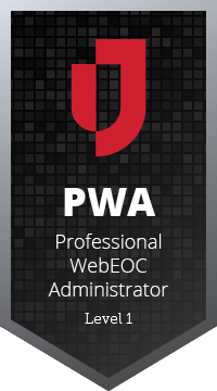 Professional WebEOC Administrator - Program Handbook