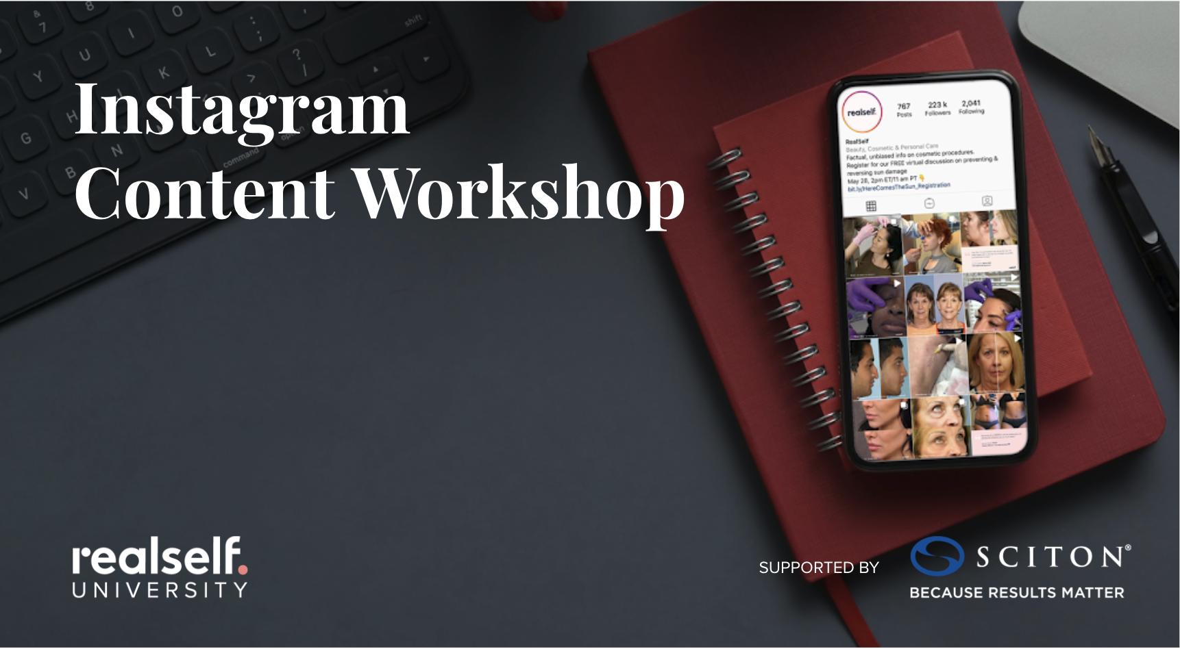 Instagram Content Workshop