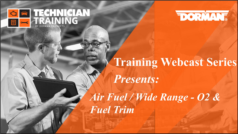 Air Fuel / Wide Range- 02 & Fuel Trim