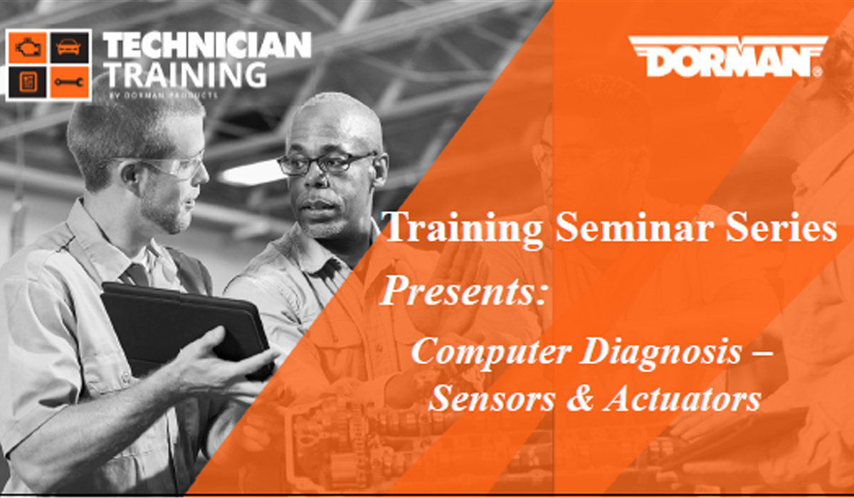 Computer Diagnosis: Sensors & Actuators Course