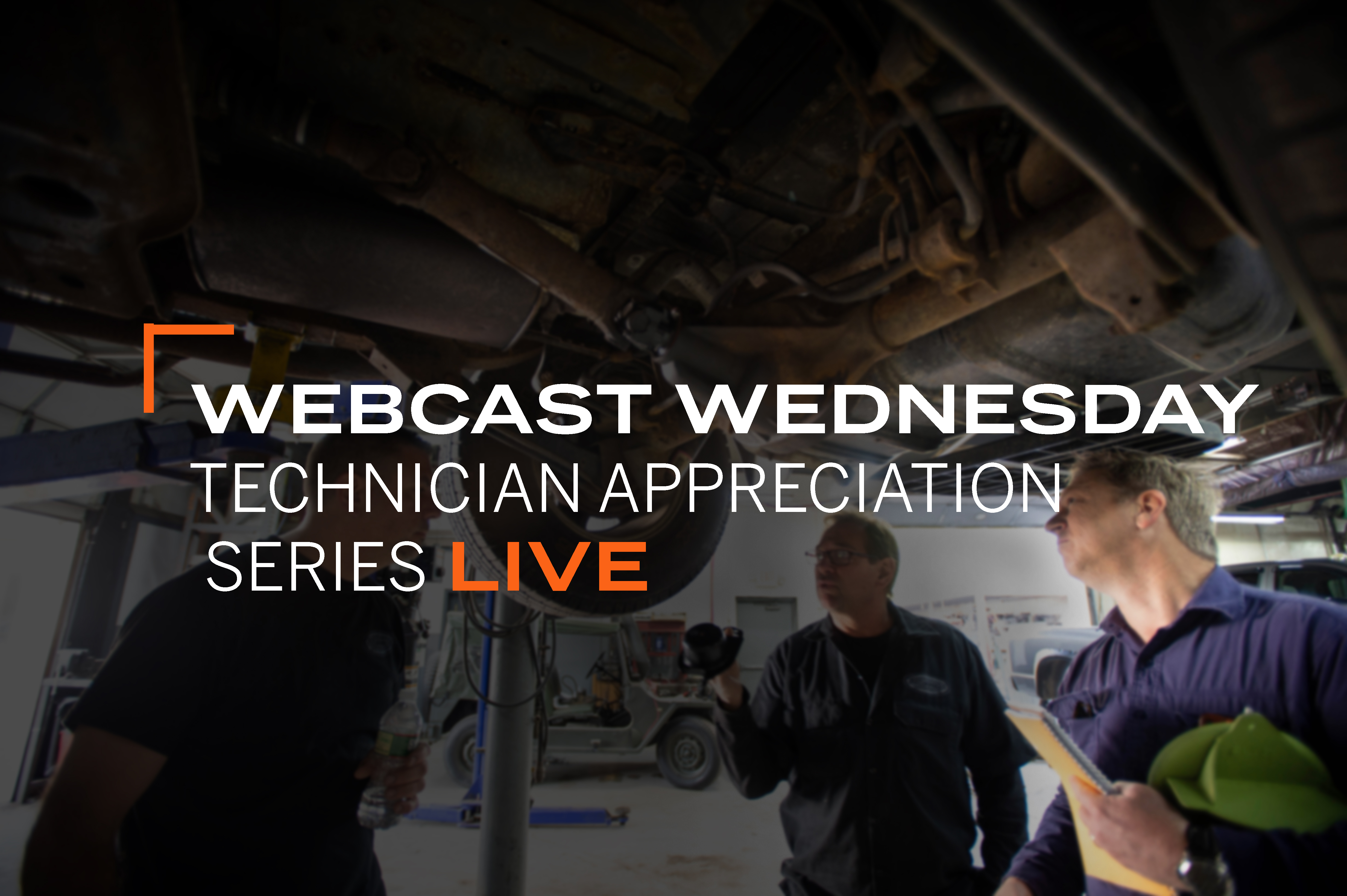 Webcast Wednesday:  Technician Appreciation October & November