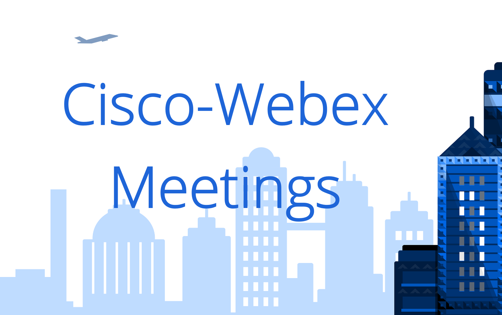 Cisco-Webex Meetings + Bluescape + Outlook
